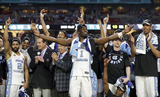 APTOPIX Final Four Gonzaga North Carolina Basketball